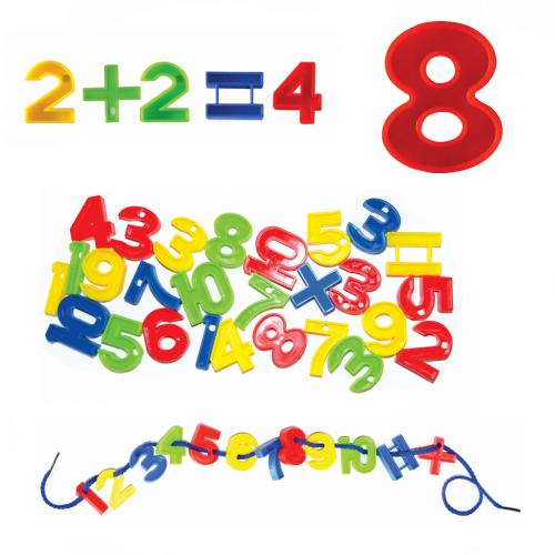 Εκπαιδευτικοί Αριθμοί 192 Τεμάχια Πολύχρωμο KEN-715-B