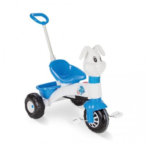 Παιδικό Τρίκυκλο με πετάλια Bunny, Λευκό-Μπλέ , PL-162P