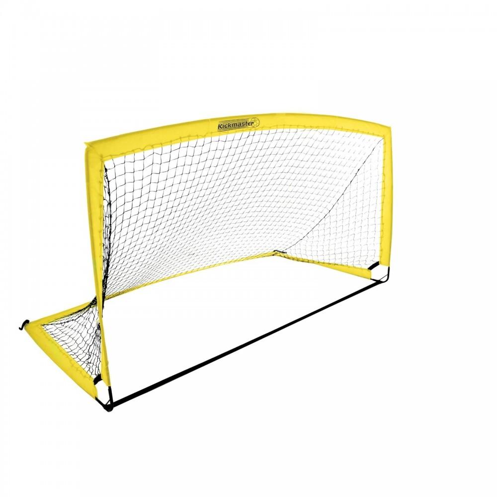 Τέρμα Ποδοσφαίρου Kickmaster Premier Goal 8Ft, Κίτρινο, MV-142
